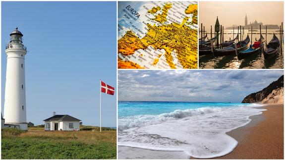 Sylt, Mer Baltique, Grèce, Italie, Danemark, Autriche - ce qui s'applique aux voyages dans les régions de vacances populaires