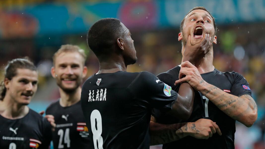Marko Arnautovic werd één wedstrijd geschorst na zijn vernederende doelpuntenviering tegen Noord-Macedonië en miste daarmee Nederland.