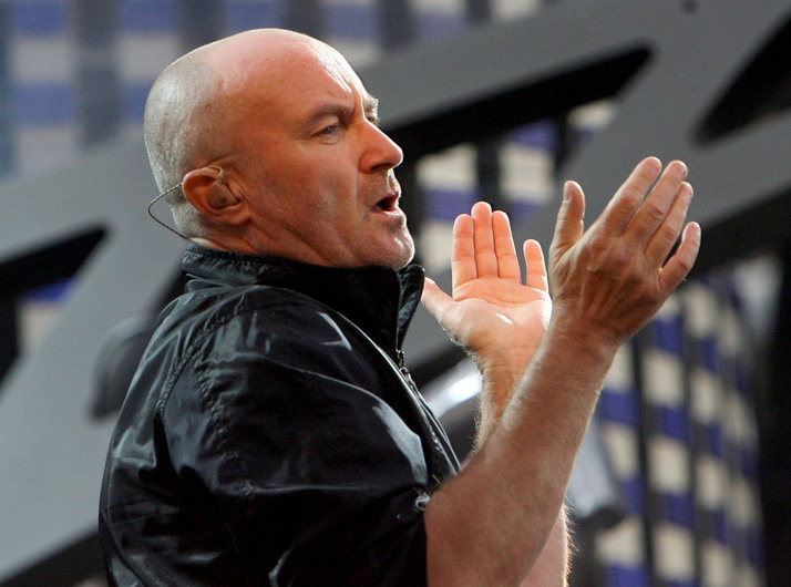 Rock and Roll Hall of Fame 2010: Die Band Genesisi mit Frontman Phil Collins