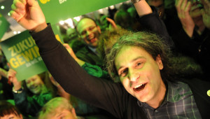 Grünen-Wahlparty in Berlin