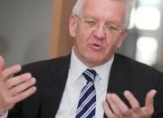 Winfried Kretschmann, neuer Ministerpr�sident von Baden-W�rttemberg.
