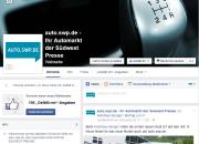 Ab sofort informiert Sie die Facebook-Seite von auto.swp.de über aktuelle Modellneuheiten und interessante Auto-Themen aus der Region.